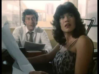 Gareth Hunt and Barbi Benton in Hammer House of Mystery and Suspense - And The Wall Came Tumbling Down (1984)