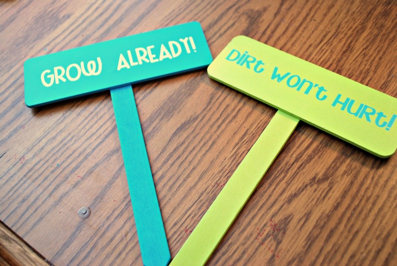 Upcycled Garden Signs Amy Latta Creations