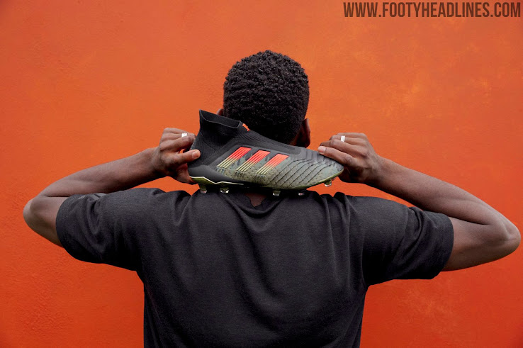 6aa276b62 Adidas today revealed the new Paul Pogba Season 4 collection, which  includes on-pitch boots as well as trainers. The Paul Pogba Season 4 boots  (and the rest ...