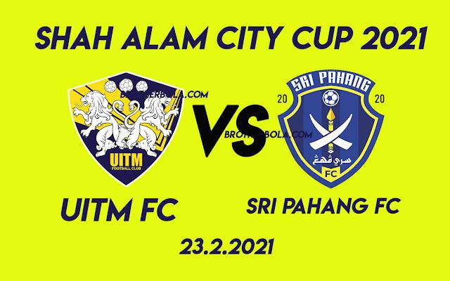 Live Streaming Uitm FC vs Sri Pahang FC 23.2.2021