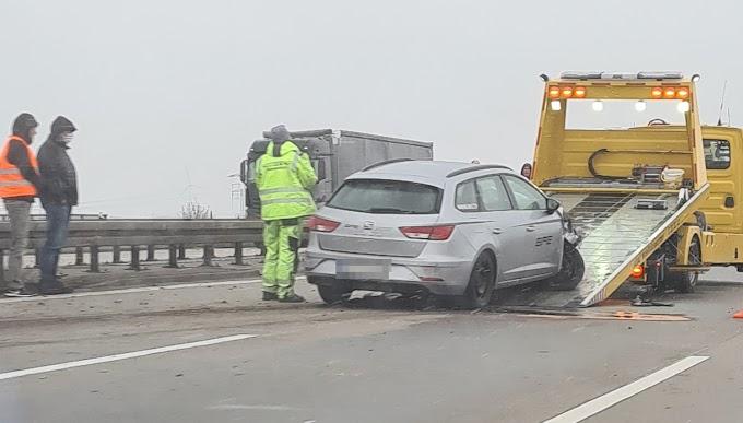 Spurwechsel führt zu Unfall auf A9