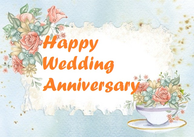 Happy Anniversary Flowers Images