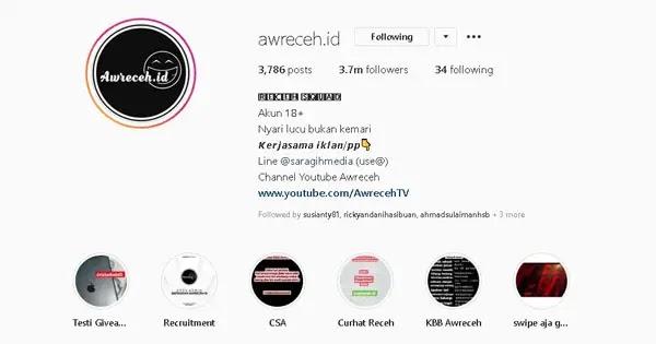 kata bio instagram