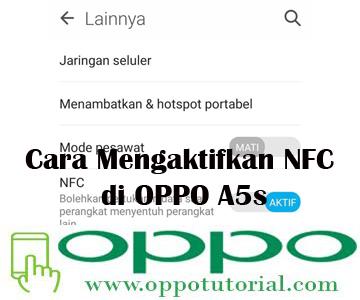 NFC OPPO A5s