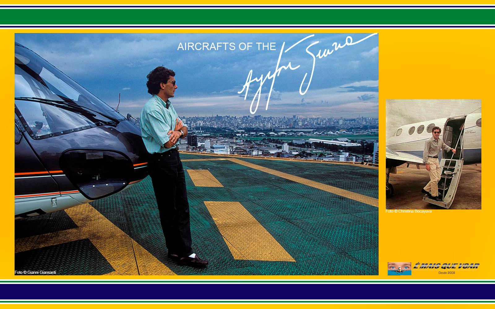 Por onde estão os helicópteros e os aviões do piloto Ayrton Senna? | É MAIS QUE VOAR