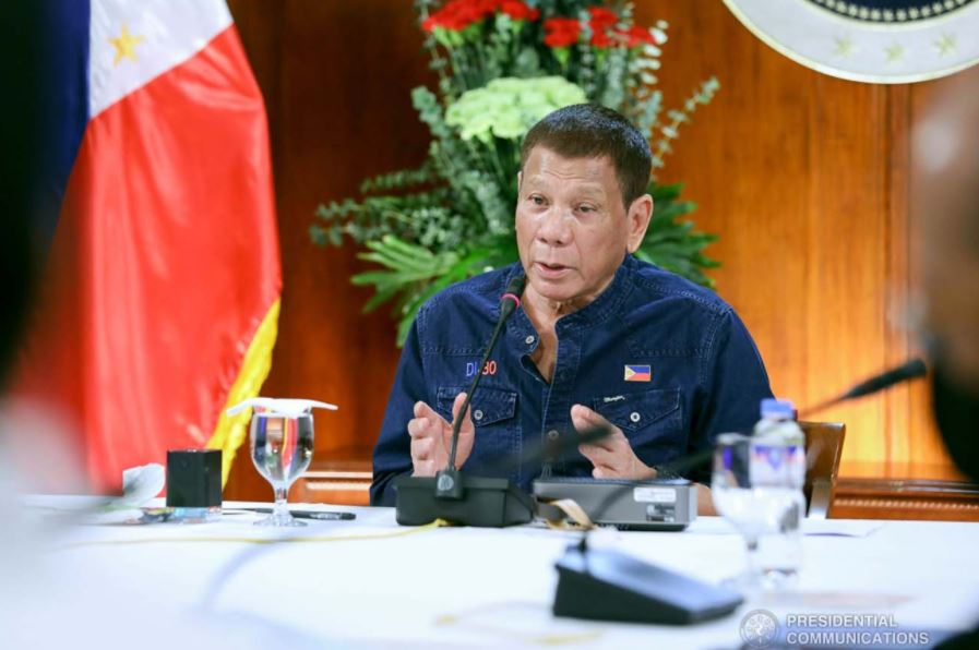 Duterte addresses the nation August 31 on GCQ fate
