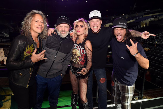METALLICA,LADY GAGA