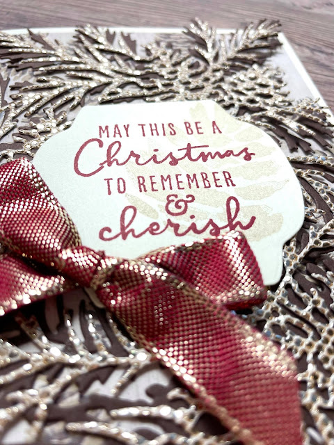 Stampin' Up! Christmas to Remember and Christmas Season Bundles.  3 cards shown on weekly Facebook Live.  Video, supplies, and measurements on blog.  #StampinUp #StampTherapist #ChristmastoRemember #ChristmasSeason