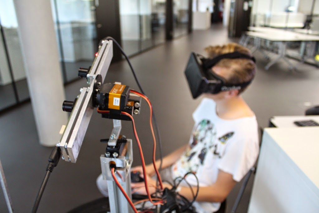 BIT Magazine : Oculus Rift-Robot Project takes FPV to the