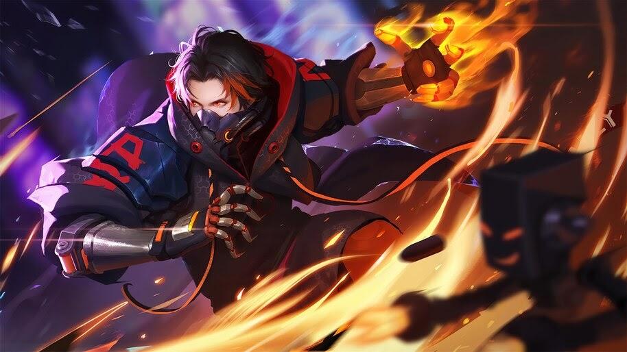 Ace, Flame, One Piece, Anime, 4K, #6.790