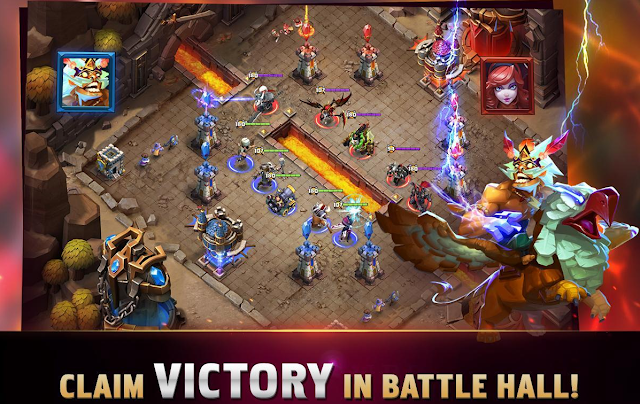 تحميل لعبة clash of lords 2 للكمبيوتر مجانا