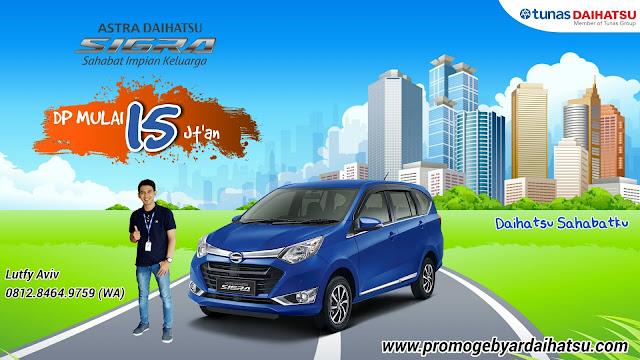 Promo Kredit Daihatsu Sigra Termurah 2018