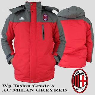 Jaket Waterproof AC Milan Murah