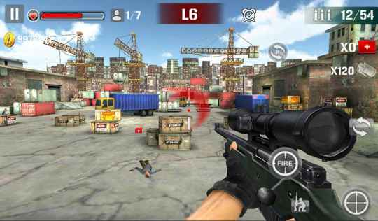 Game FPS Android Offline Sniper Shoot Fire War MOD APK
