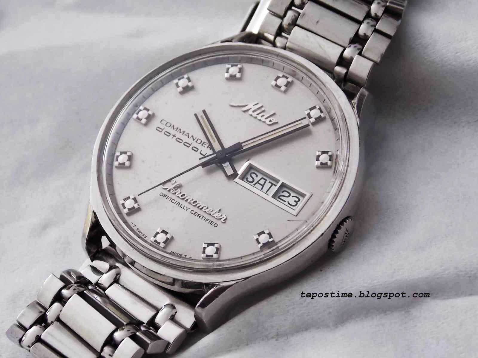 e258a7571ce Mido chronometer