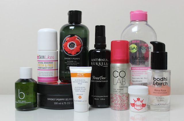 A picture of lots of beauty products