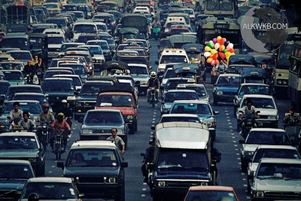 Bangkok Thailand Traffic