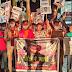 सुशांत सिंह राजपूत आत्महत्या मामले में रंग कर्मियों ने निकाला आक्रोश मार्च, सीबीआई से जांच की मांग