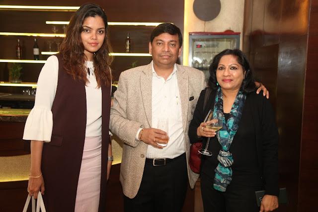 L-R - Padma Swarupa, Sanjeev Rao & Girija