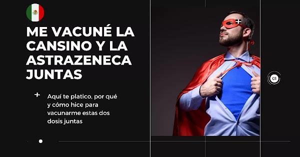 ▷ Me Vacuné Cansino y 50 días después AstraZeneca #HistoryTime SOY ASMÁTICO