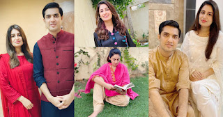 Iqrar ul Hassan and Farah Iqrar New Beautiful Pictures