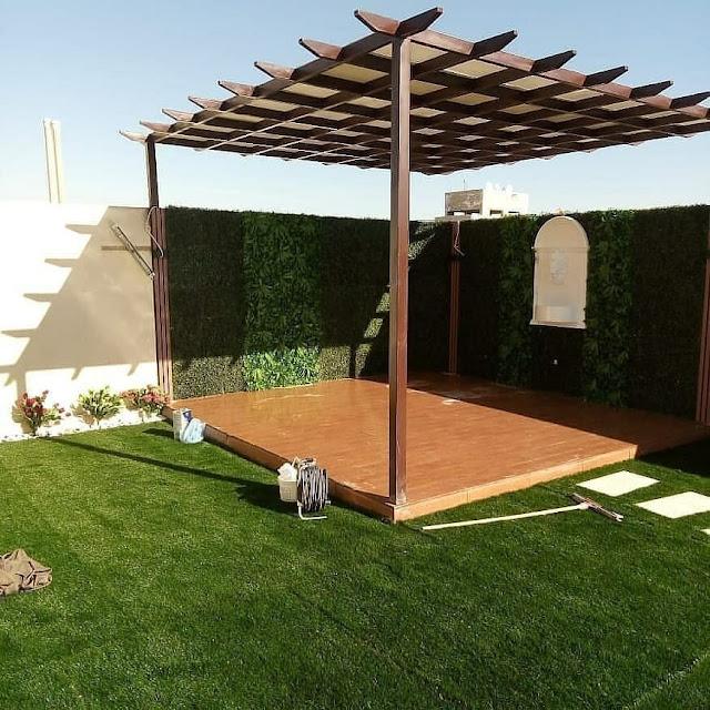 تنسيق حدائق عشب صناعي بحفر الباطن