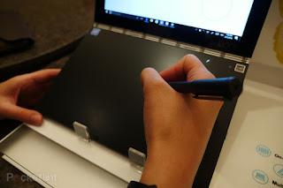 Lenovo Yoga Book Laptop Dari Masa Depan