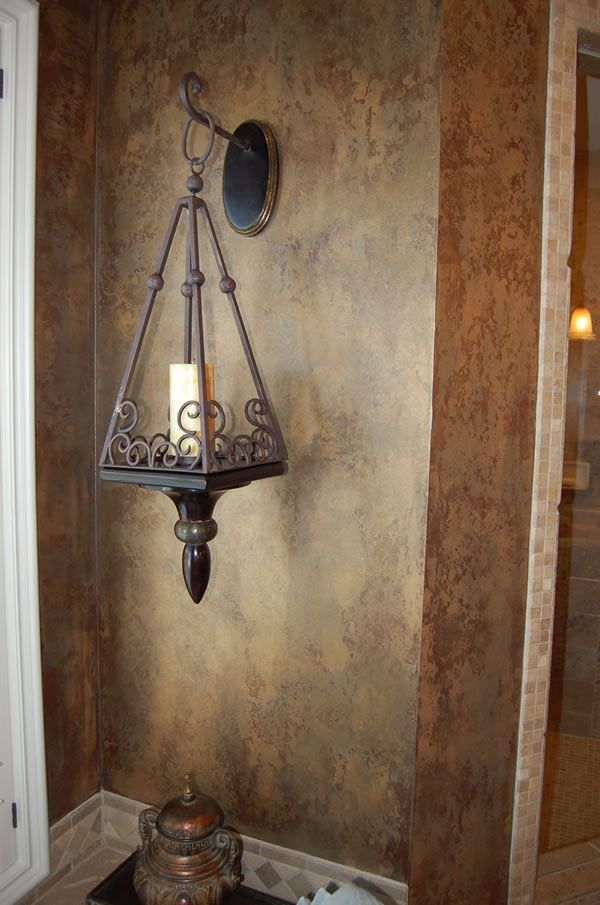 Eye For Design: Decorating With Faux Finishes And Old ...