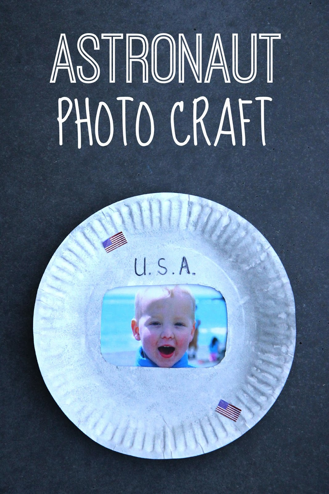 Space Crafts For Kids Toddler Approved Astronaut Photo Craft For Kids