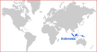 image: Indonesia Map Location