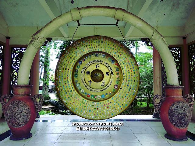 Gambar Gong Perdamaian Nusantara Kota Singkawang