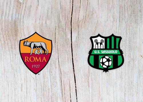 Roma vs Sassuolo - Highlights 26 December 2018