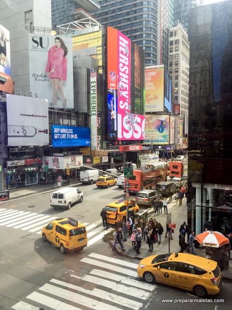 luces en Times Square