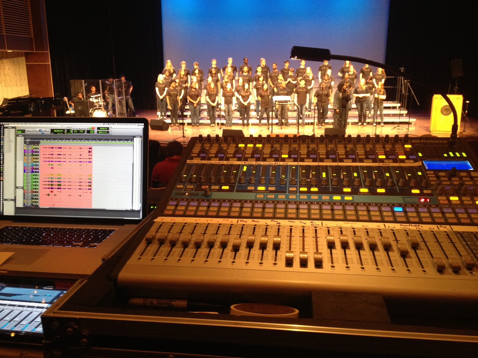 GvG Productions: Live Gospel Choir Sound Reinforcement And