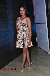 Actress Madhu Shalini Stills in Floral Short Dress at RGV Shiva to Vangaveeti Event  0203.JPG
