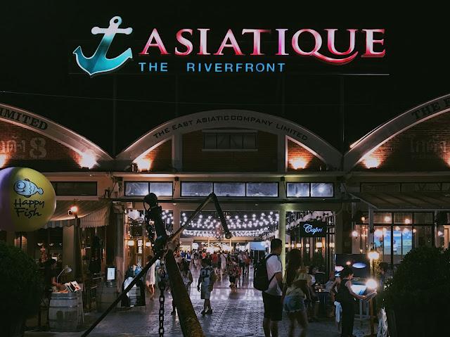 bangkok thailand asiatique free shuttle boat