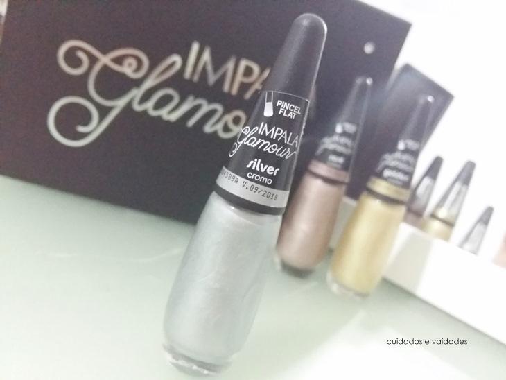 Esmalte Impala Glamour Silver