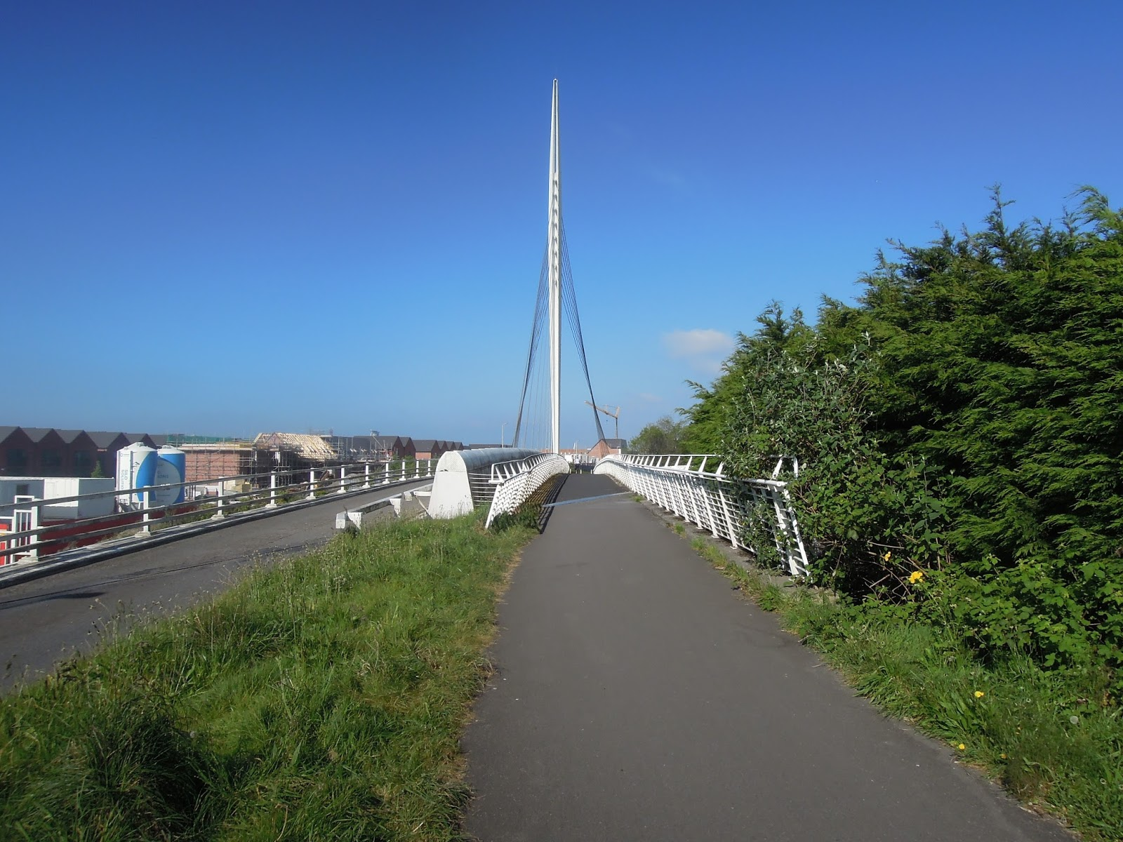 Cycling National Cycle Network Route 4, Swansea to Llanelli