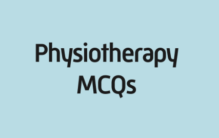 Physiotherapy MCQ Questions and Answers Pdf Download