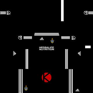 LA Galaxy Kits 2017 - Dream League Soccer
