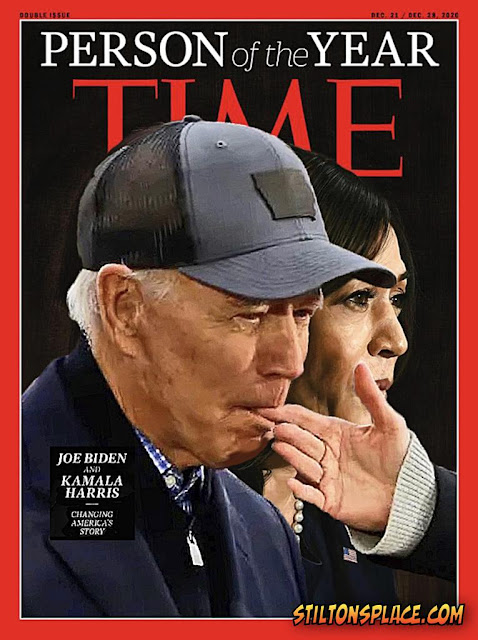 stilton's place, stilton, political, humor, conservative, cartoons, jokes, hope n' change, trump, biden, electoral college, electrical college, supreme court, time magazine, person of the year