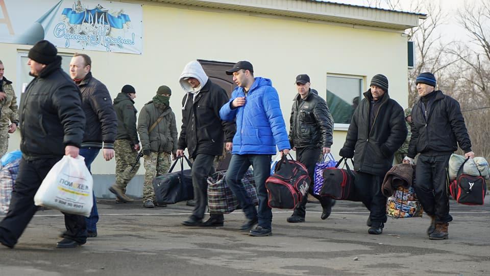 Фамилии освобожденных из ОРДЛО заложников