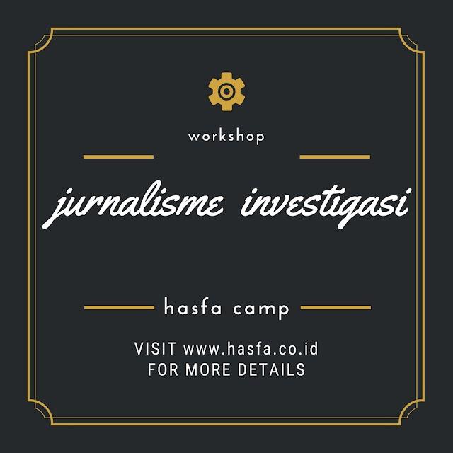 Workshop Jurnalisme Investigasi