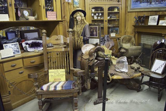 1880 Town - Dakota del Sur, interior casa