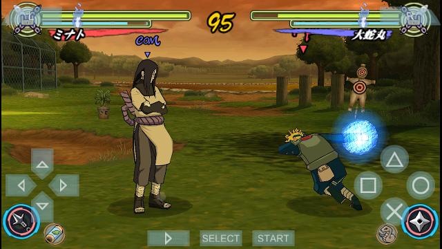 Download Game Naruto Adventure 3D APK Android v2.2 Terbaru