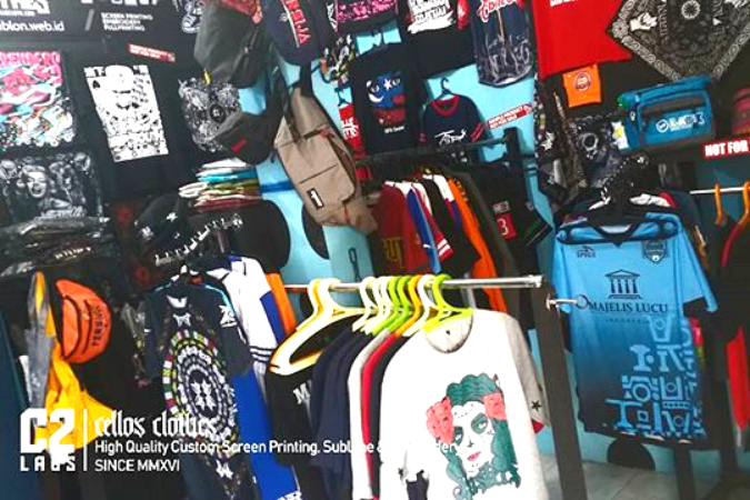 C2labs Cellos Clothes - Apparel Custom Yogyakarta Online