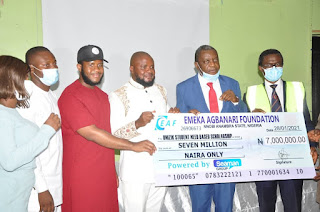 140 UNIZIK Students Bags Emeka Agbanari Foundation Scholarship