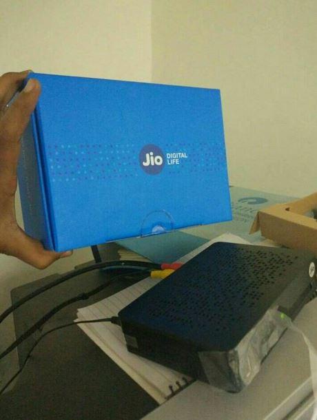 jio dth box