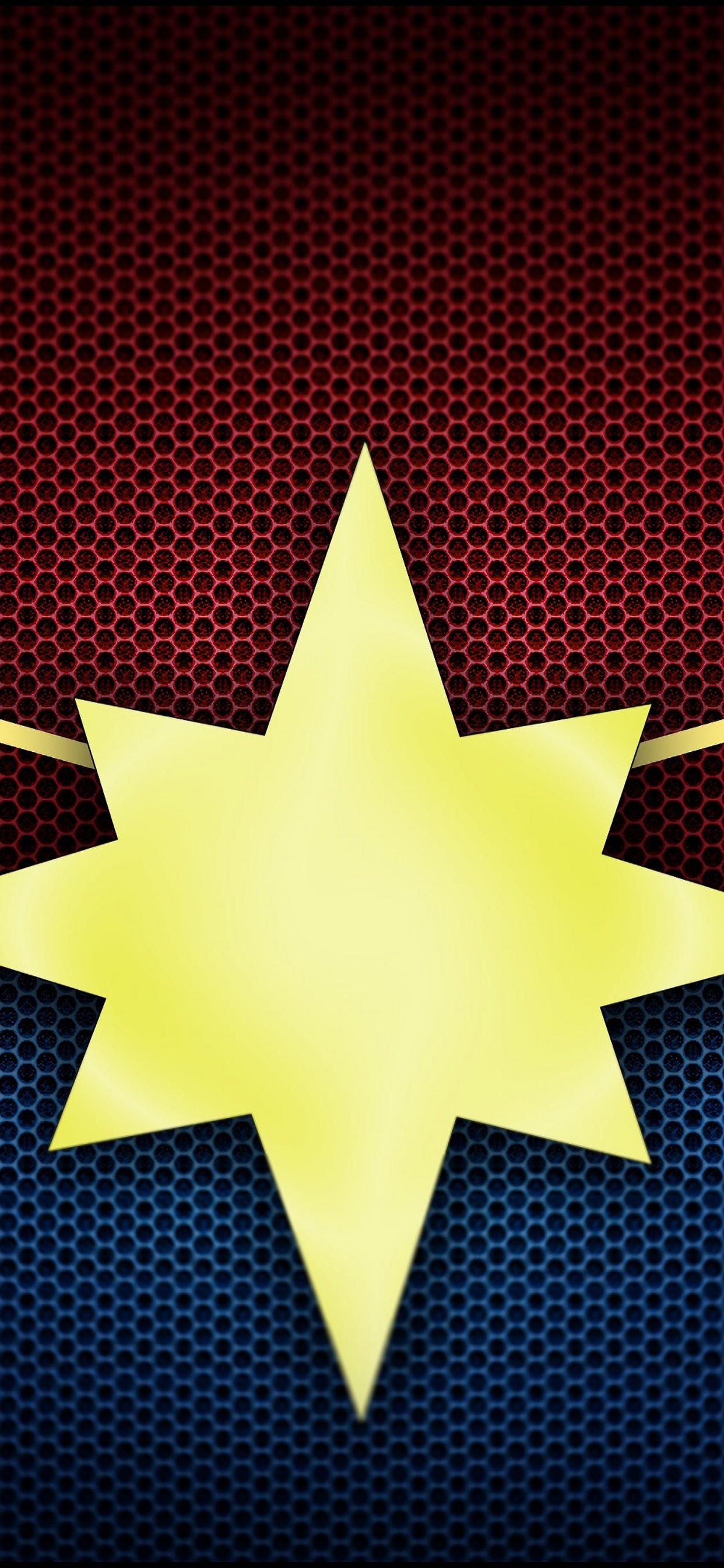 Captain Marvel Logo Movie 4k Wallpaper 5