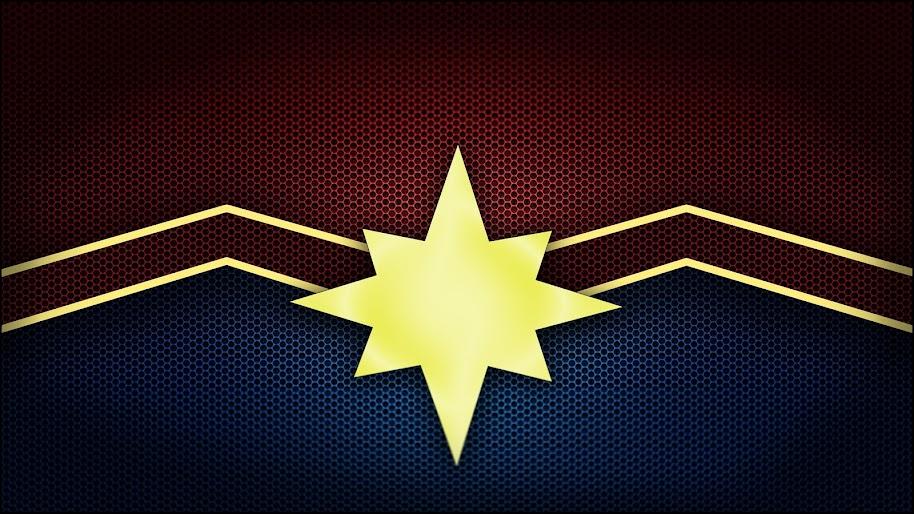 Captain Marvel Logo Movie 4K Wallpaper #5
